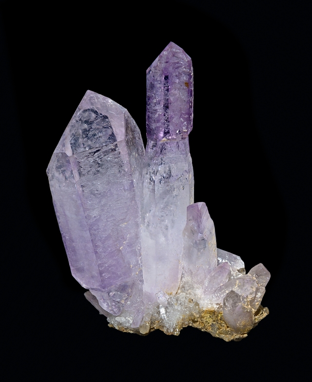Amethist, a variety of quartz