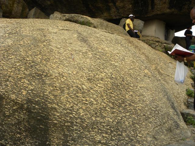 01b=Olumo Rock, geology - 629