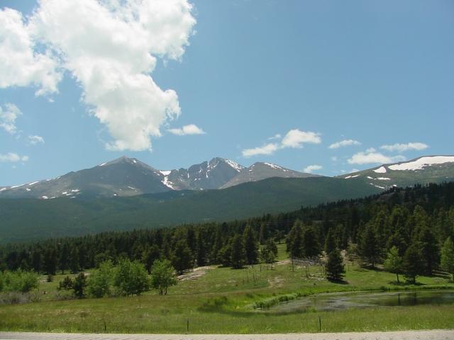 09a=0183 Longs Peak, GOOD