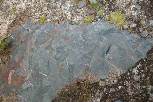 13a=stop#6.12=pillow lava, glacial striations - 52