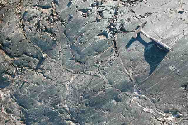 15a=pillow lavas & glacial striae, (best) GPS#6  169