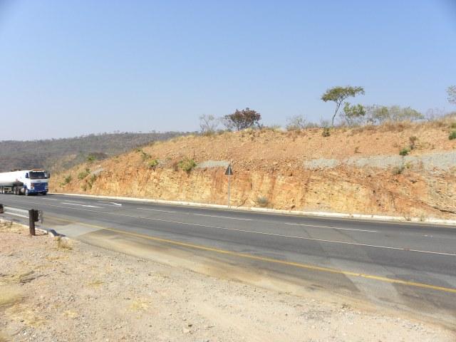 22a=GPS#3, schist roadcut - 099